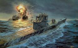 """""""Mổ bụng"""" tàu ngầm U-Boat nổi tiếng của Đức"""