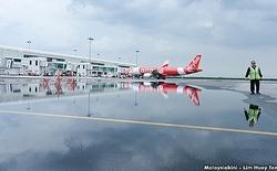 Sân bay tỷ đô của Malaysia chìm trong bể nước