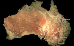 Phát hiện chuỗi núi lửa đất liền lớn nhất thế giới tại Australia