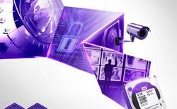 WD mở rộng dòng ổ cứng giám sát với Purple™ NV