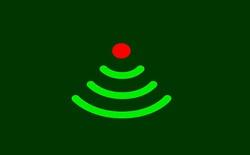 Đèn trang trí Giáng sinh thật sự không làm chậm WiFi nhà bạn