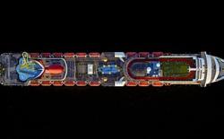 [Picture] Siêu tàu du lịch giống như cả một thành phố khi nhìn từ trên cao