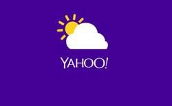 Yahoo Weather cập nhật tính năng cảnh báo mưa sớm... 15 phút