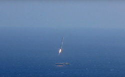 SpaceX sẽ tiếp tục hạ cánh tên lửa trên biển vào ngày 17/1