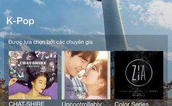 MOOV - Ứng dụng nghe và tải nhạc hàng đầu châu Á cập bến Việt Nam