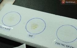 """2 clip này của Bộ Y tế chứng minh dầu cá ăn mòn được xốp mới là """"đồ xịn"""""""