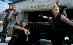 Huyền thoại Final Fantasy XV sẽ là game online trên di động