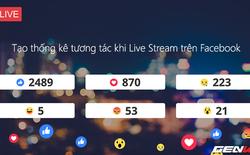 Bạn đã biết cách tạo Live Stream hiện chỉ số tương tác đang rất hot hiện nay chưa? Cách làm đây!