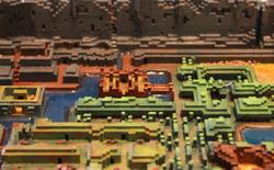 Thế giới trong trò chơi Legend of Zelda huyền thoại được tái hiện qua máy in 3D