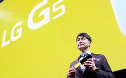 Doanh số smartphone G5 thụt lùi, LG sa thải hàng loạt sếp mảng di động