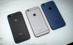 iPhone 7 có thể trở lại với màu đen truyền thống và đây là những hình ảnh đầu tiên
