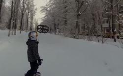 [Video] Lướt ván cùng Drone: môn thể thao sẽ lên ngôi trong 2016