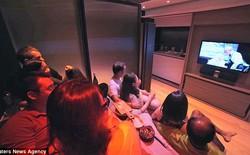 Bạn sẽ không thể tin một ngôi nhà 30 mét vuông lại có cả rạp chiếu phim và đầy đủ tiện nghi như thế này