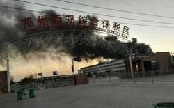 Nhà máy chiếm tới 70% sản lượng iPhone vừa cháy lớn