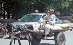 Đối thủ mới nổi của Uber tại Pakistan chỉ sử dụng xe kéo và điện thoại cục gạch
