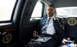 Sau khi bỏ BlackBerry, Tổng thống Obama đã chuyển sang dùng một chiếc smartphone Android