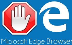 Trình duyệt Microsoft Edge đã cho phép chặn quảng cáo bằng AdBlock