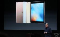 Ra mắt iPad Pro 9,7 inch: màn hình tự đổi tông màu, cấu hình giữ nguyên, camera lồi
