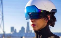 Mũ bảo hiểm thông minh biến công nhân thành... siêu nhân