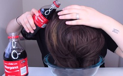 Vì sao diễn viên nổi tiếng lại khuyên mọi người nên dùng nước ngọt để gội đầu?