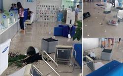 Quên mật khẩu, mất Facebook, khách hàng đập phá trung tâm bảo hành Samsung