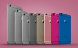 Thêm màu cà phê và xanh dương trên iPhone 7c?