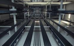 Thang máy đi lên đi xuống là công nghệ xưa rồi, đây mới là chiếc thang máy của tương lai