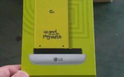 """Chiếc vỏ hộp vô tình tiết lộ cách thay pin không thể """"độc"""" hơn của LG G5"""