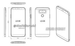 LG G5 sẽ bỏ đi phím chức năng ở mặt lưng?