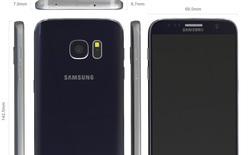 Ảnh dựng rõ nét về Galaxy S7: mặt lưng cong, thêm cổng USB Type-C?