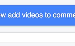Facebook vừa cho dùng video để bình luận, bạn đã thử chưa?