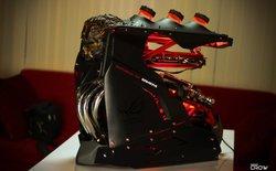 """""""Hết hồn"""" với bộ case máy tính phong cách Ghost Rider"""