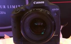 """Cận cảnh """"khủng long"""" Canon 1D X Mark II tại Malaysia, giá chính thức gần 145 triệu đồng"""