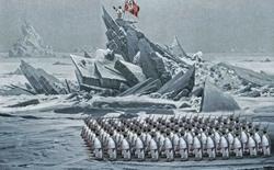Các nhà khoa học Nga tìm ra căn cứ quân sự tuyệt mật của Đức quốc xã tại Bắc Cực
