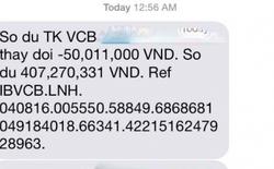 Chủ thẻ Vietcombank bỗng dưng mất 500 triệu đồng chỉ qua một đêm