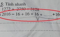 Bài toán tính nhanh đánh đố cả giáo viên