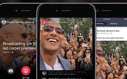Facebook trả tiền để các trang tin và người nổi tiếng sử dụng Facebook Live