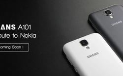"Uhans A101: smartphone tôn vinh ""huyền thoại"" Nokia 1100"