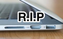 Vĩnh biệt MagSafe, HDMI, USB, đầu đọc thẻ SD Card và logo Apple phát sáng!
