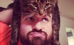 """Cộng đồng mạng thế giới chạy theo trào lưu mới """"mũ mèo"""""""