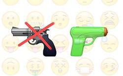 Emoji khẩu súng trên iPhone mới đổi thành súng nước