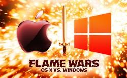 Cảm ứng: nơi khởi đầu cho cuộc chiến mới giữa PC và Macbook