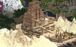 Một người đàn ông đã dành trọn 5 năm để xây dựng cả thế giới trong game Minecraft