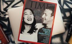 Vợ chồng Mark Zuckerberg lọt danh sách 100 người ảnh hưởng nhất thế giới