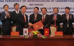 LG Display đầu tư 1,5 tỷ USD xây nhà máy tại Việt Nam