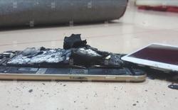 Lại xuất hiện trường hợp iPhone 6s bị nổ trong khi đang sạc pin