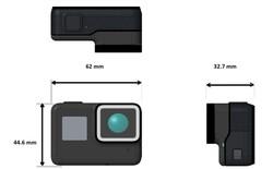 Camera GoPro Hero 5 rò rỉ ảnh thật, màn hình cảm ứng, có chống nước, chống rung, pin 1.220 mAh