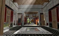 Sử dụng công nghệ kỹ thuật số mô phỏng lại thành phố La Mã vĩ đại một thời đã chìm trong khói bụi núi lửa