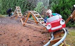 Khi kỹ sư hàng không về vườn, đây là món quà chỉ có ông ấy mới làm được cho con cháu mình