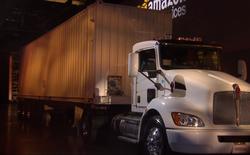 Tuy trông giống như trò đùa, nhưng Amazon đang muốn ship dữ liệu bằng xe container chở hàng
